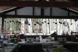 Open Air Küche im Cachew Ressort auf Koh Chang