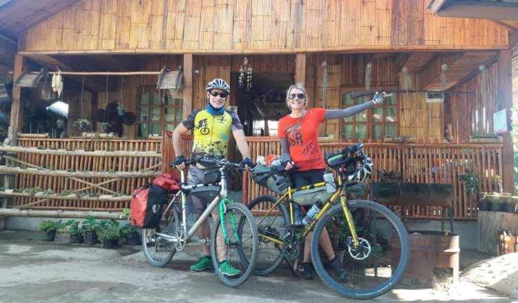 Ortlieb-Taschen und Bikepacking auf der Radtour in Thailand
