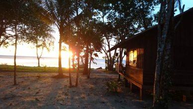 Sunset auf Koh Chang Cashew Ressort