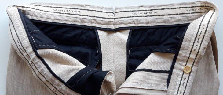 cintura interna pantalone con gommina