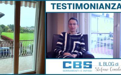 Opinioni e testimonianze Stefano Comida CBS Serramenti