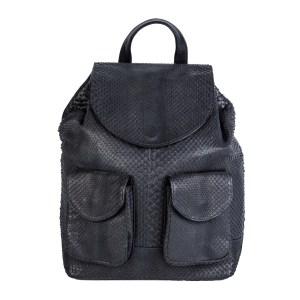 Python Backpack Black