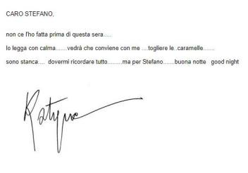 Un saluto da Katyna Ranieri