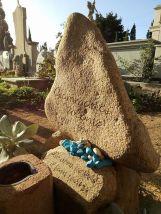 Sulla tomba di Gian Maria Volonté, La Maddalena, 2018
