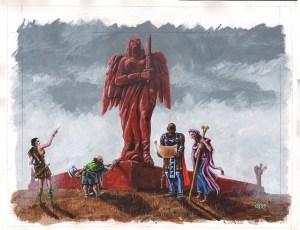 red mausoleum back 24x28 72
