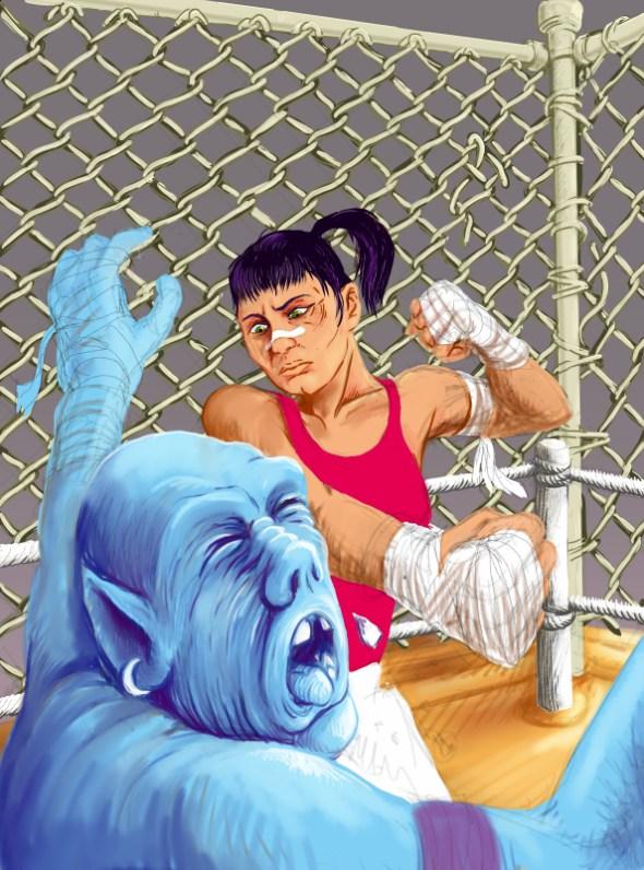 cage match