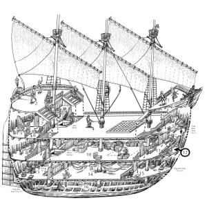 Ship cutaway drawing | stefan poag