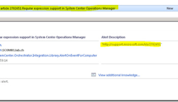 Reset Monitor using SCOM 2012 and Orchestrator – A must have