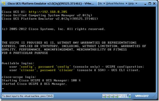 SCOM 2012 Monitoring Cisco UCS – Part 1 Emulator Setup | STEFANROTH NET