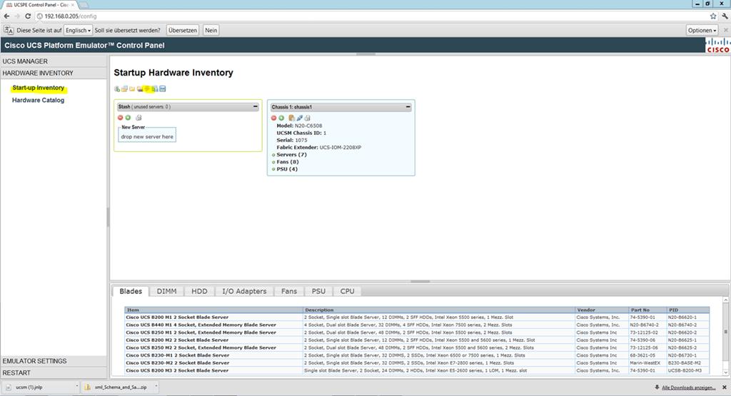 SCOM 2012 Monitoring Cisco UCS – Part 1 Emulator Setup