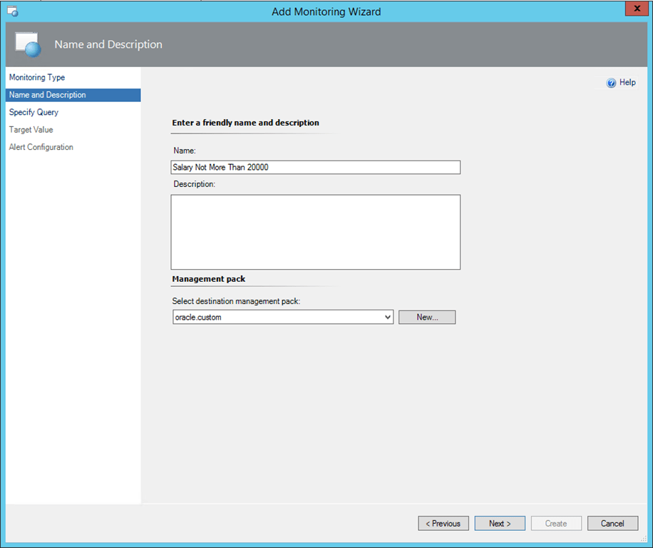 SCOM 2012 – OpsLogix Oracle Intelligent Management Pack Custom