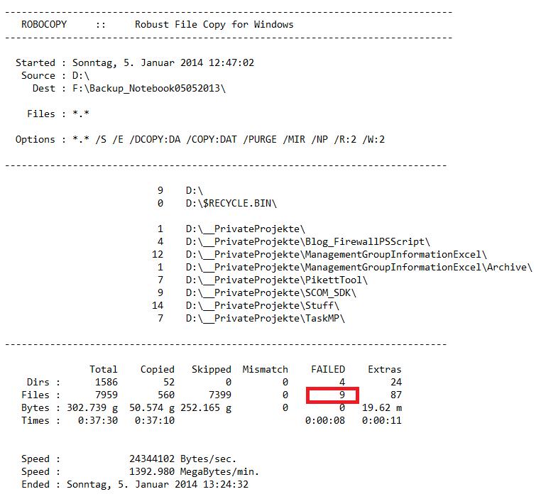 SCOM 2012 – NiCE Log File Library MP Monitoring Robocopy Log