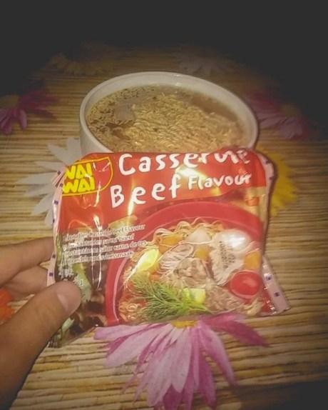 La hostel am încercat noodles