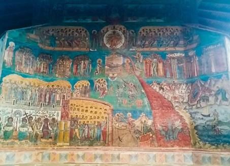 """""""Judecata de apoi"""", Mănăstirea Voroneț"""