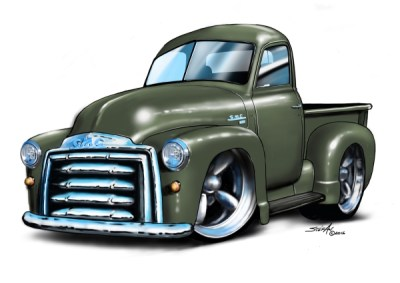 private commisions, cartoon car art, car drawings,