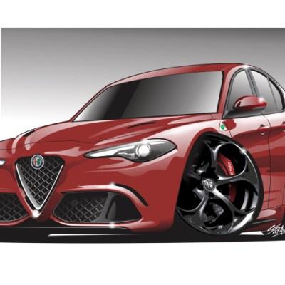 Alfa Romeo QV RED