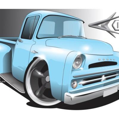 Dodge D100 - Blue