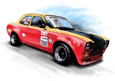 Escort Mk 1 Racing