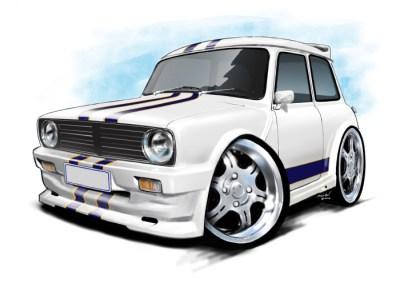 Mini 1275 White