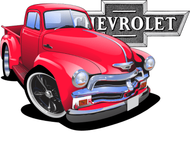 chevy pickup, american muscle