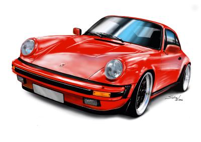 porsche-911-red