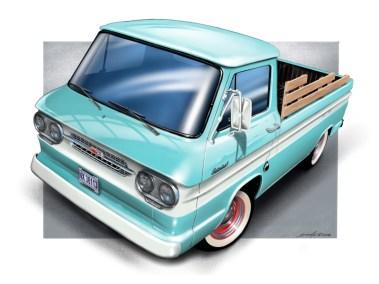 Chevy Corsair Truck