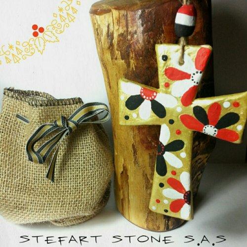 коледа, подаръци, коледна украса, кръст, керамичен кръст