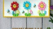 Картина Детски слънчогледи