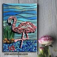 картина за стена Фламинго