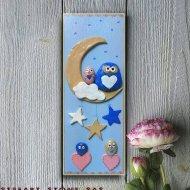 Картина за детска стая Сладки сънища 2