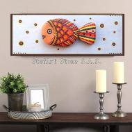пано за стена риба