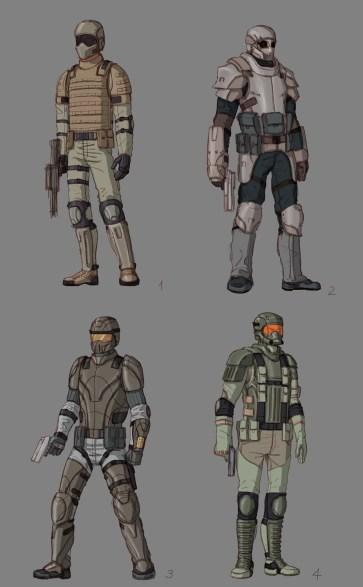 Character design.