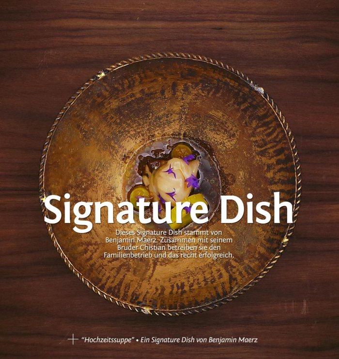 Signature Dish: Hochzeitssuppe