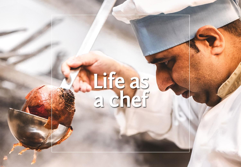 Die Kolumne - Life as a Chef - cover