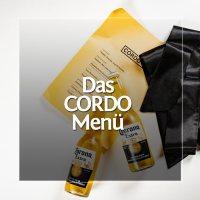 Das CORDO Menü