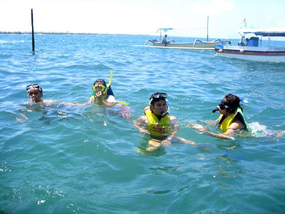 First Snorkeling di Bali: Kelelep