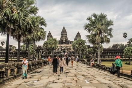 Kamboja (Part 2): Keliling Angkor Wat Satu Hari