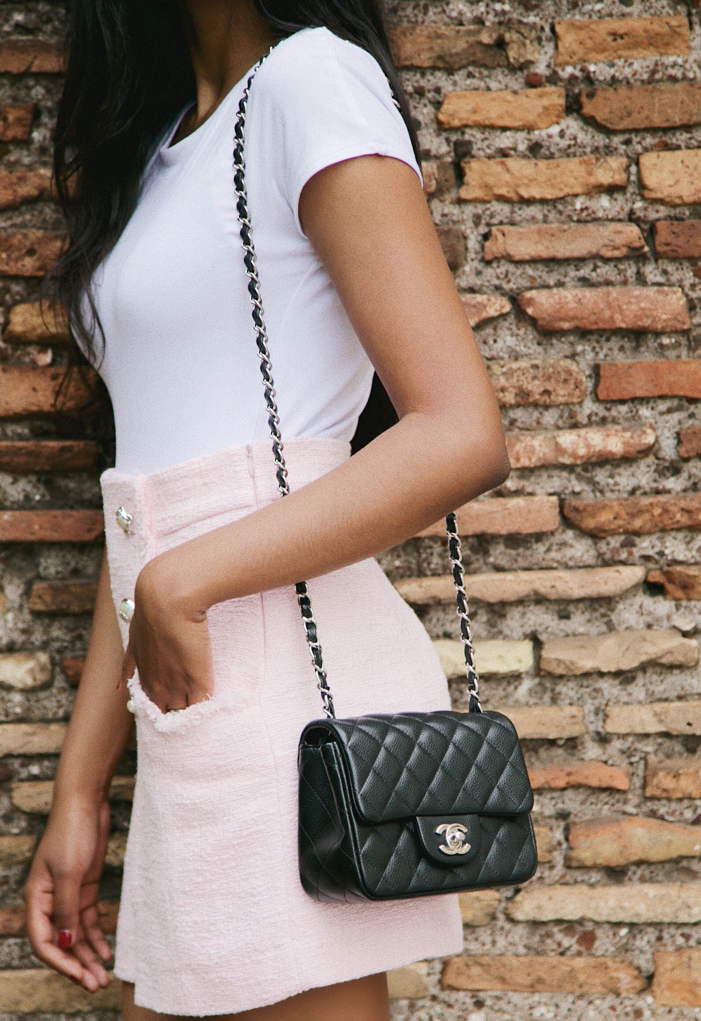 27adefe186 Chanel Square Mini Review - Steffy's Style
