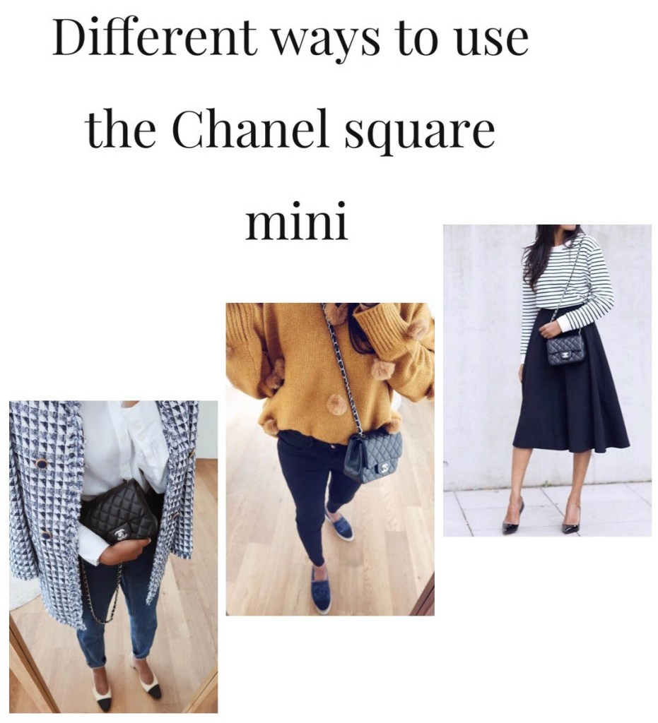How to use the chanel square mini