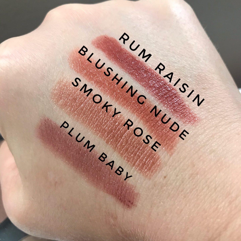 Revlon Super Lustrous Lipstick Swatches
