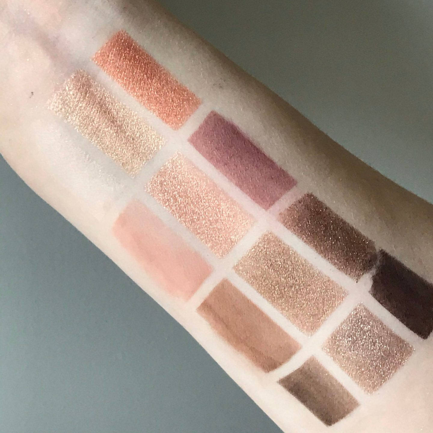 Bobbi Brown Nude Drama II Palette Swatches and Review