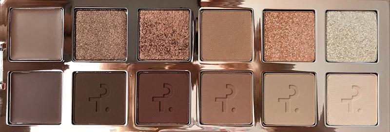 Patrick Ta Major Dimension palette - all 12 pans close up