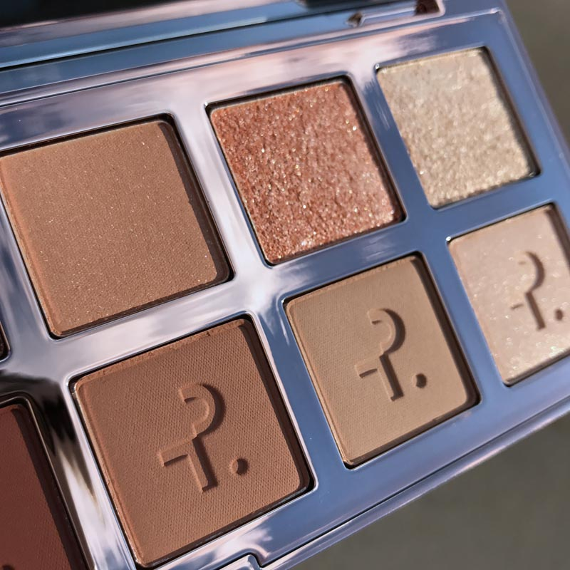 The lightest shades in the Patrick Ta Major Dimension palette