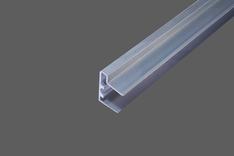U Profil Tropfkante Aluminium Fur 16 Mm Doppelstegplatten