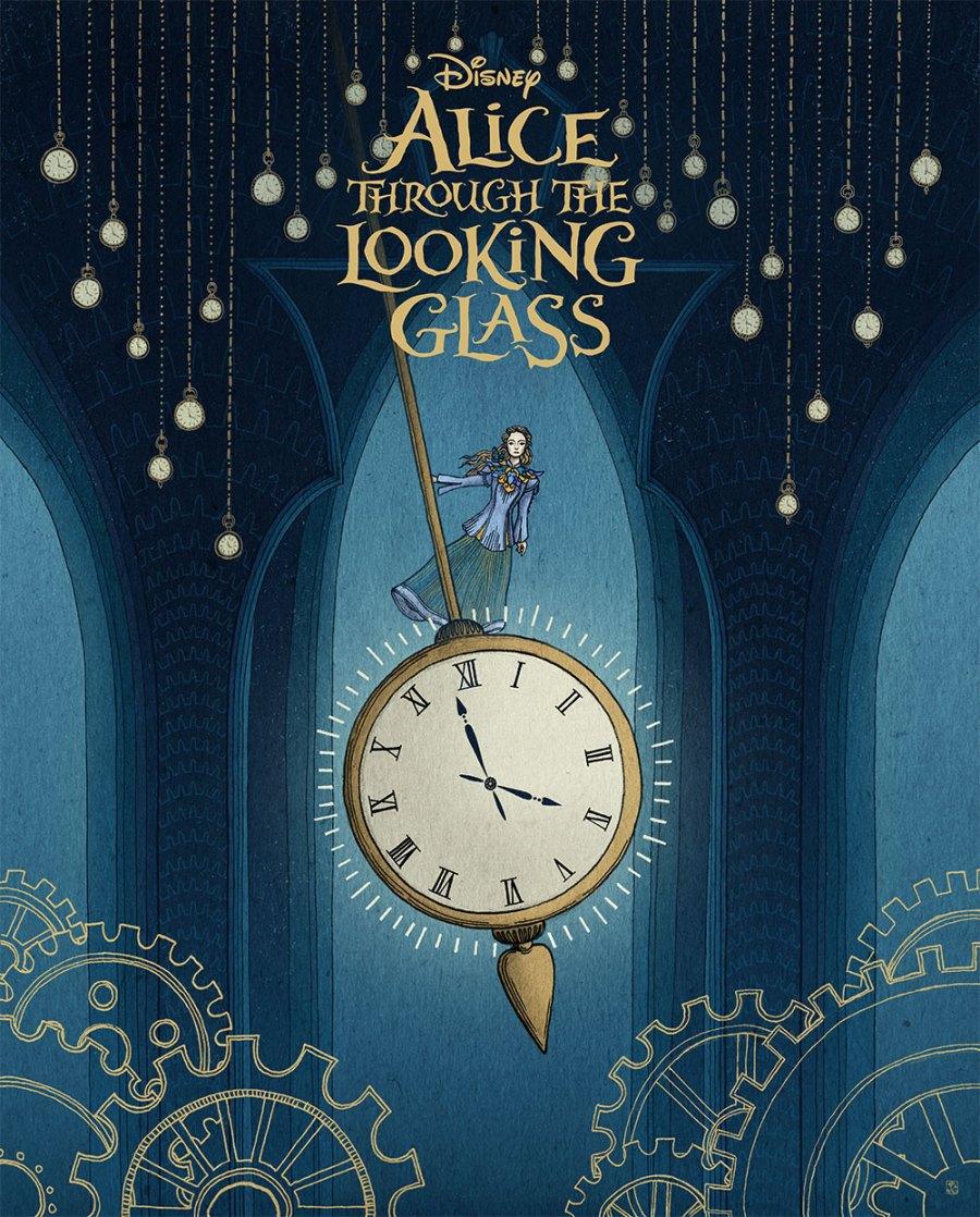 ilustrações de alice noa pais do espelho - alice thought the looking glass 2