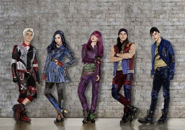 descendentes 2 disney channel