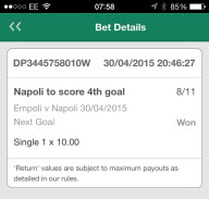 In-Play Winner
