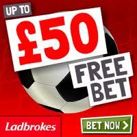 £50 Free Bet