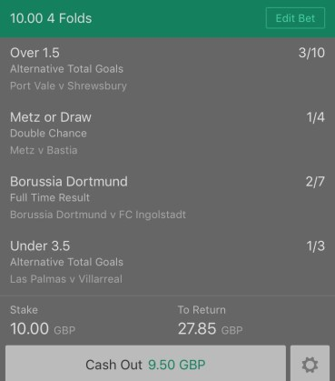 Friday night Football - 4 fold
