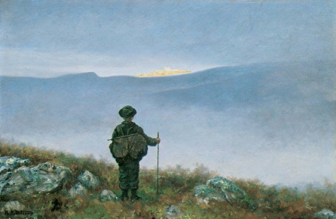 Theodor Kittelsen, Soria Moria slott, 1900